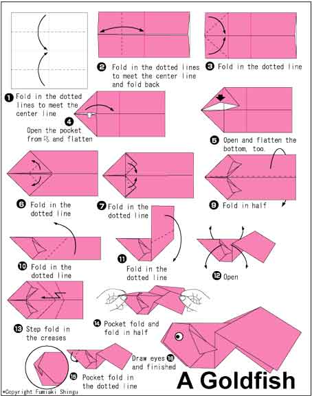 Well, semoga beberapa cara membuat beberapa origami sederhana diatas